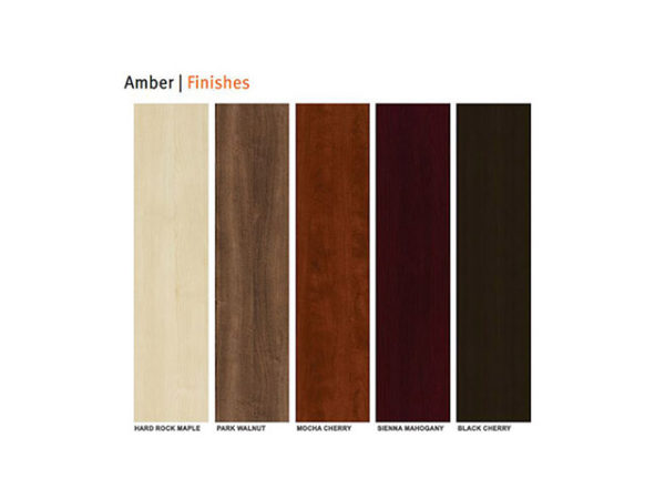 Amber Finish Options