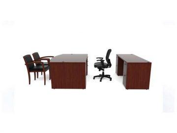 Amber Standard Desk