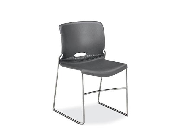 hon olson stack chair gray