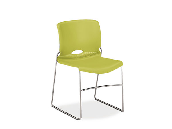 Hon olson stack chair lime