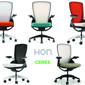 HON CERES MESH BACK VARIATIONS