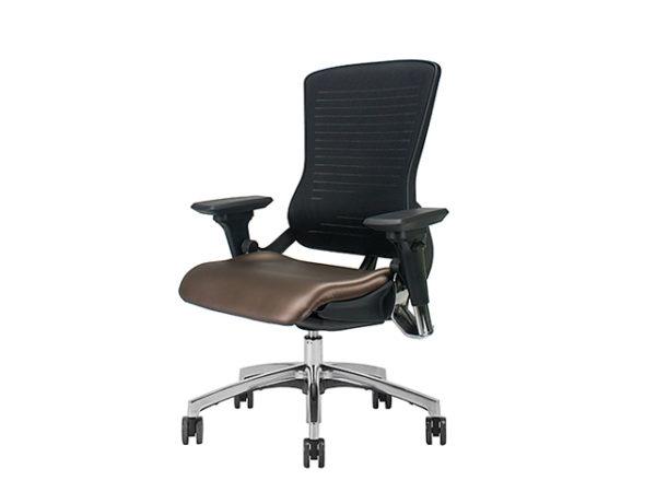 OM5 Cocoa Vinyl Task Chair