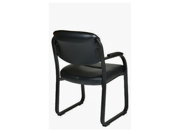 Basyx VL 693 Sled Base Guest Chair seat back view