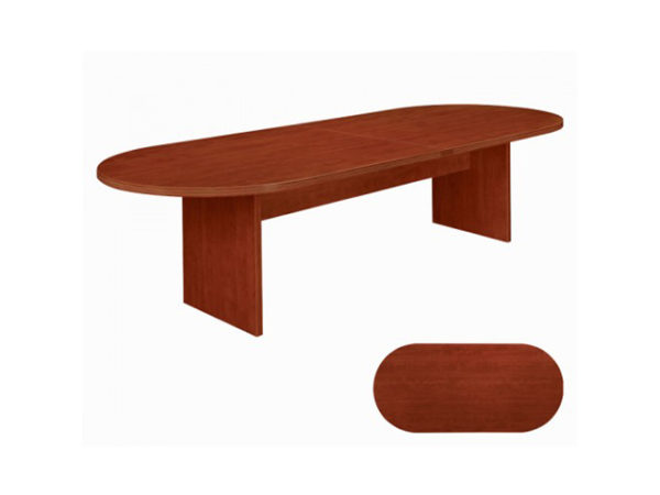 amber 8' racetrack conference table