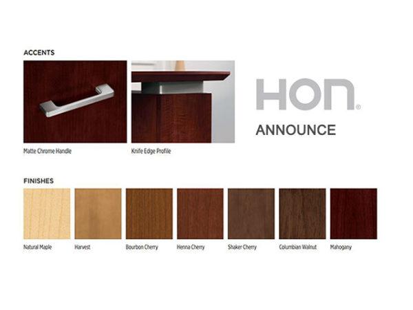 HON Announce Finish Options