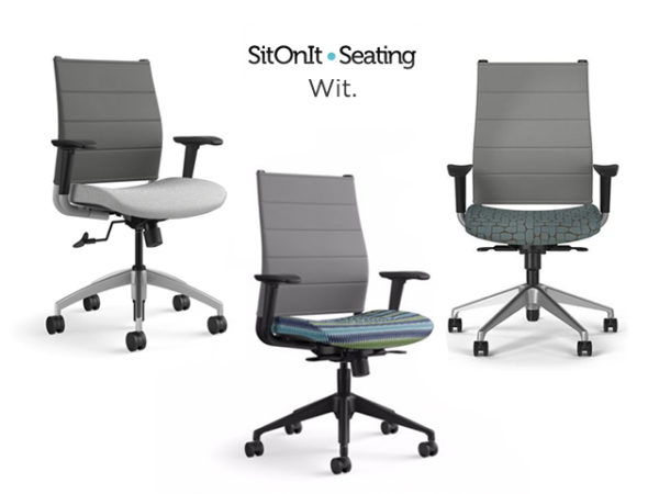 sit on it wit task chair gray