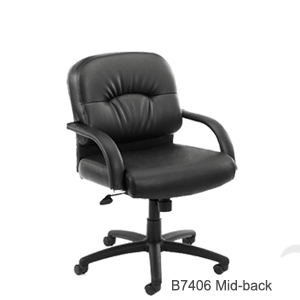 BOSS B7406 mid back executive chair 300px