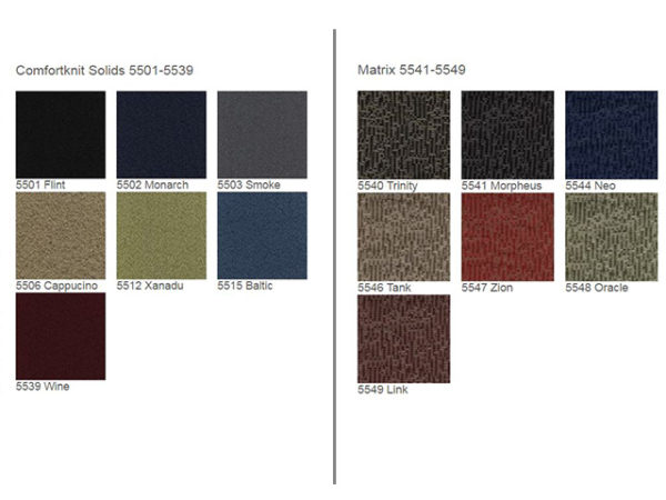 Office Master BC44 Fabric options