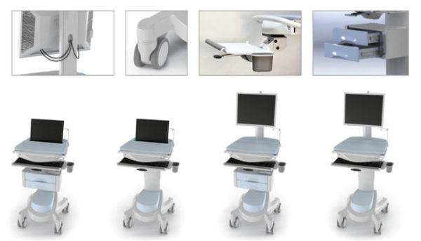 ESI Mobile desking options