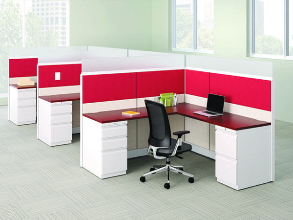 HON ACCELERATE semi private WORKSTATIONS