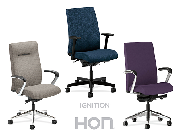 Hon Ignition Mid Back Task Chair Main Image