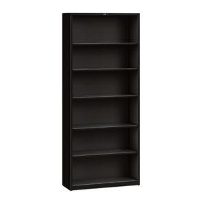 hon metal open bookcase