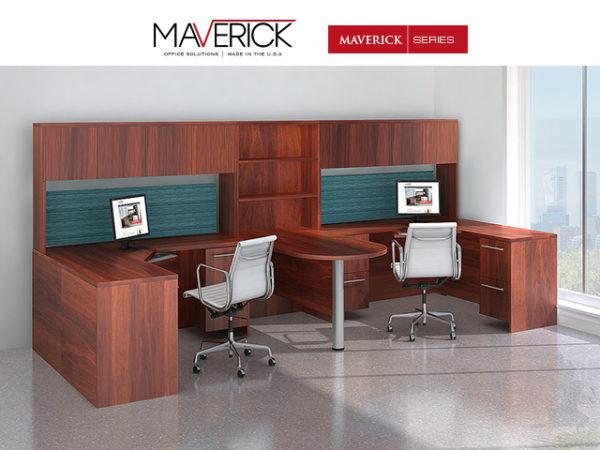 maverick-series-cherry-laminate-desk