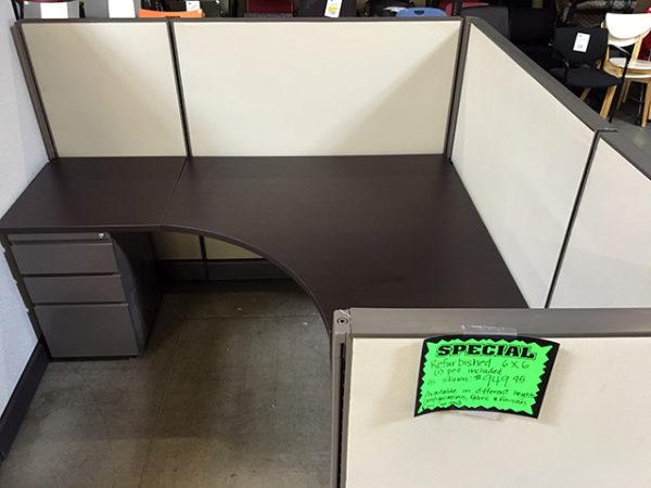 Herman Miller AO2 Refurbished low panels