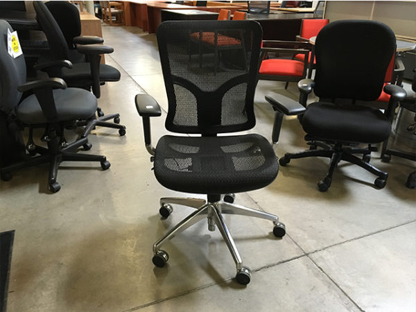 used at the office task chair