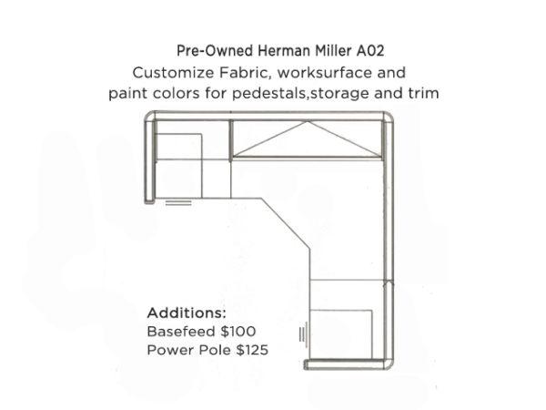 refurb herman miller customizable
