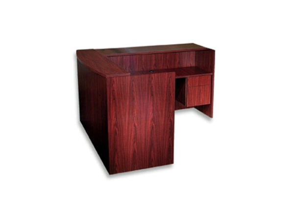 Case-2k-reception-L-desk-mahogany