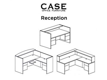 Case reception desk combo image