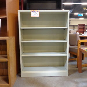 New hon brigade 4 shelf steel bookcase
