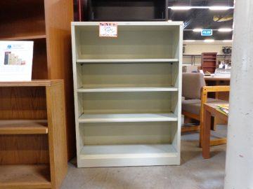 New hon brigade 4 shelf steel bookcase