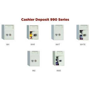 Phoenix Fire cashier deposit safes 990 series