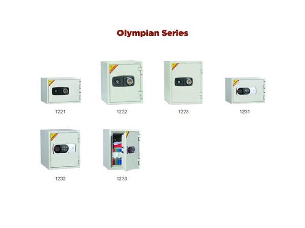 Phoenix Fire fire proof safes olympian series