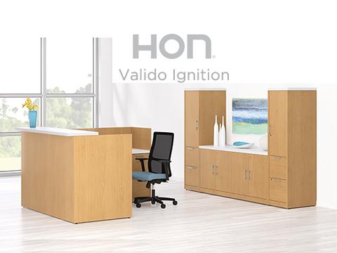 HON Valido Ignition Reception desk