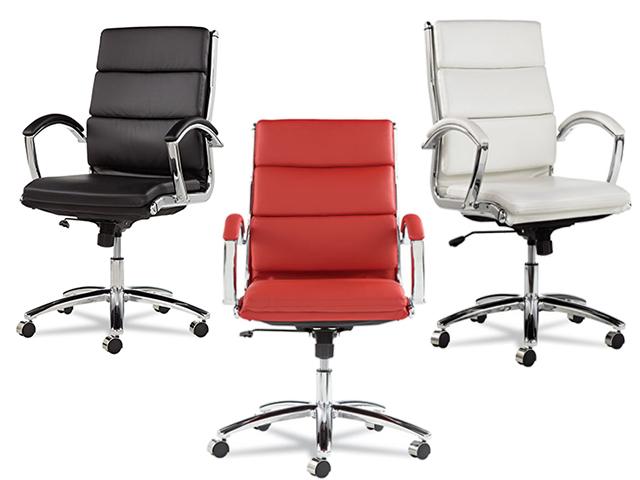 Alera Neratoli Mid Back Chair Color Options