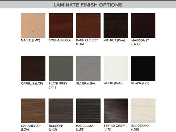 james edwards laminate finish options