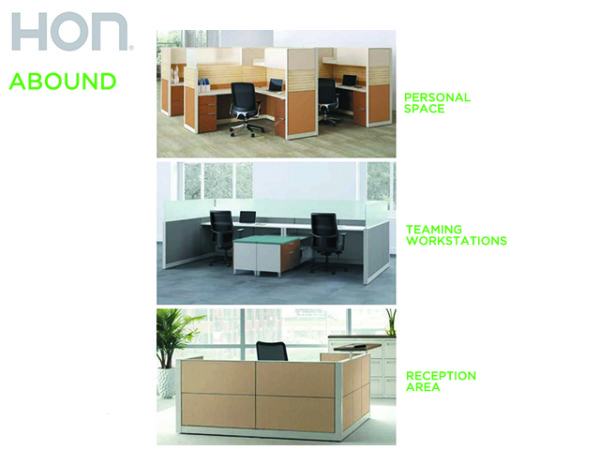 HON ABOUND WORKSTATION options