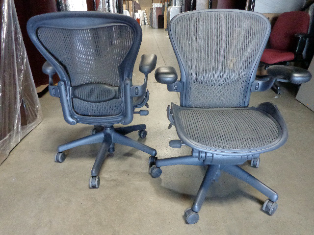 Used Herman Miller Aeron Chair Size B And A Arizona Office Furniture