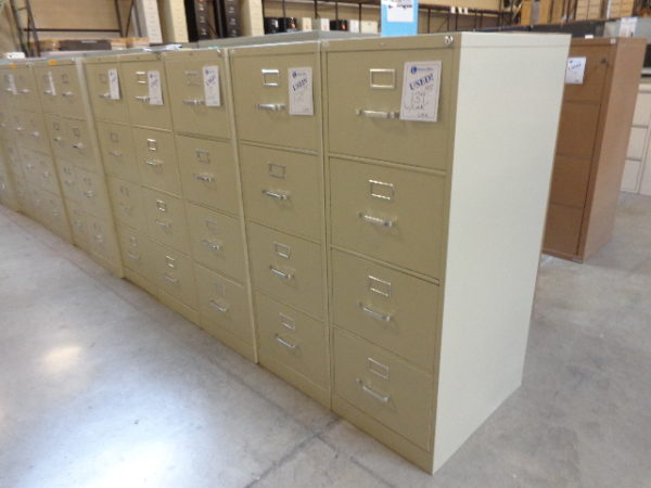 Used HON 4 Drawer Vertical Files