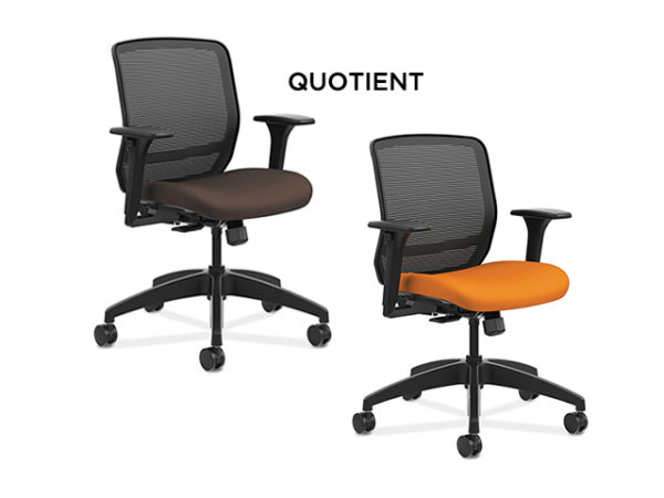 hon-quotient-brown-orange-chairs