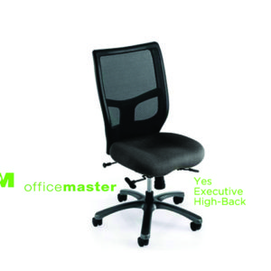 office master yes series executive high back chair