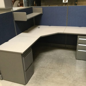 Used cubicle Herman miller