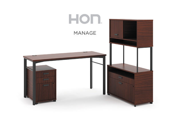 hon manage desk series
