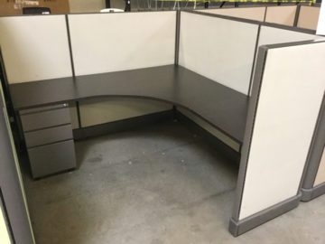 Preowned 6×6 cubicle