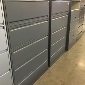 steelcase metal 5 drawer lateral file