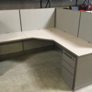 Used Herman miller cubicle
