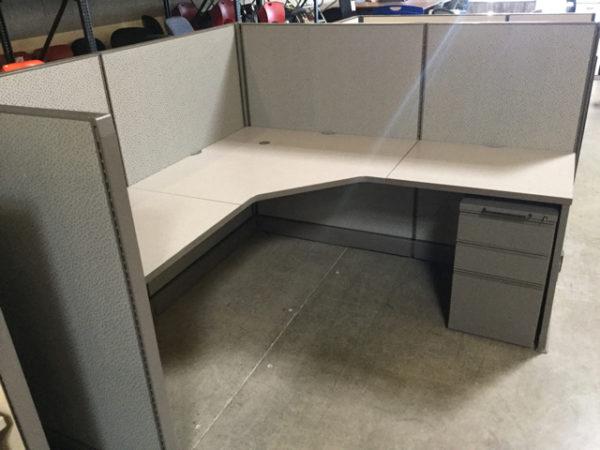 Used Herman miller cubicle