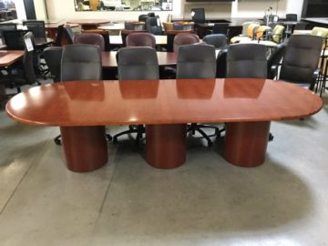 Gunlocke conference table