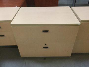 Two drawer file
