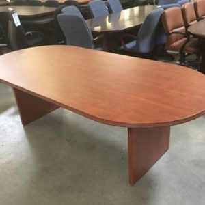 Racetrack Table Cherry