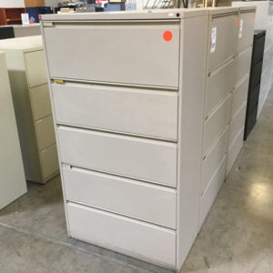 Kimball 5 drawer file