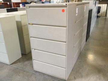 Kimball 5 drawer file