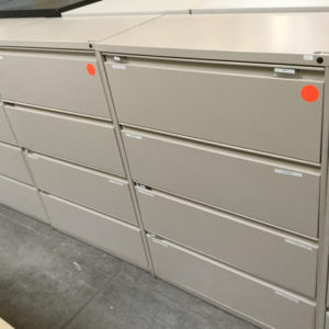 Kimball 4 drawer lateral file