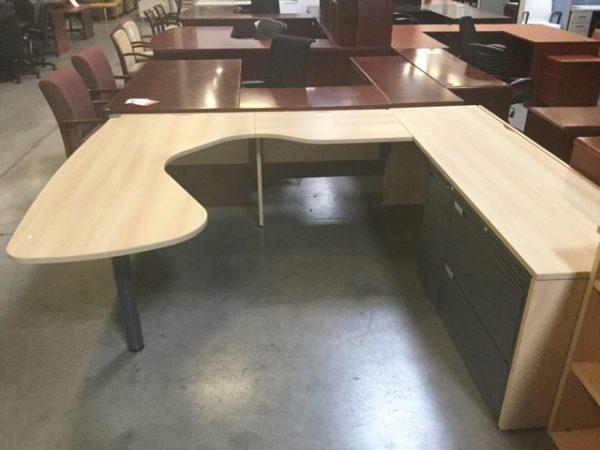 Global desk u shape