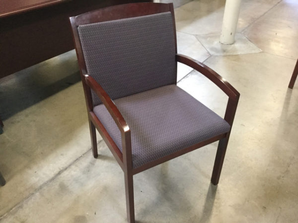 Kimball wood guest chair