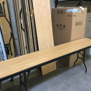 Folding table used