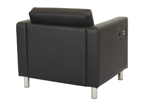Atlantic Arm Chair with Charging Station